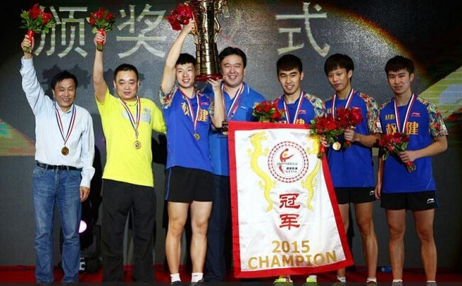 ningbo table tennis team
